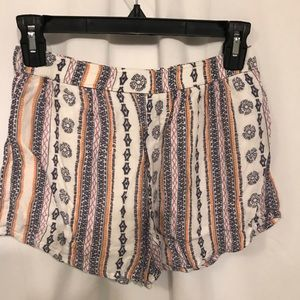 Abercrombie & Fitch Small Patterned Shorts. for sale